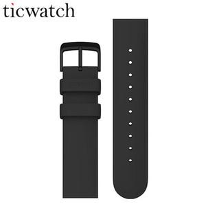 Orologio universale originale Ticwatch da 20 mm con cinturino in gel di silice. Chiusura in acciaio inossidabile. Accessori per orologi sportivi