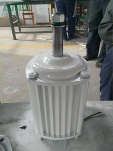 Alternateur hydraulique de vent horizontal de bas régime de 2.5KW / 2500W 350RPM / turbine hydraulique de dynamotor de puissance de l'eau d'aimant permanent