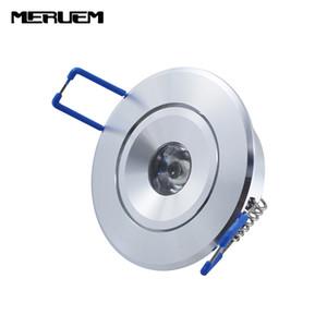 Lampada da incasso a LED da incasso a LED 3W conchiglia argentata 85-265v, bianco rosso verde blu colore giallo