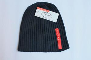 Kadın Moda Örme Kap Sonbahar Kış Erkekler Pamuk Sıcak Şapka Marka Ağır Saç Topu Büküm Kasketleri Katı Renk Hip-Hop Yün Şapka 5671