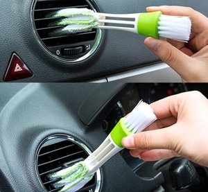 Keyboard Clean Seat Gap Car Air Outlet Vent Brush Dust Cleaning Tools Internal Cleaner Interior Accessories Cleaning Brush