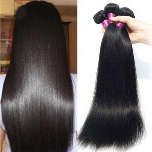 مصنع الجملة اللون الطبيعي غير المجهزة بيرو الشعر 5 قطعة / الوحدة 50 جرام / قطع بيرو الطبيعة الشعر النسيج الإنسان الشعر الحرير مستقيم