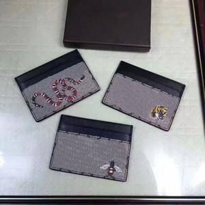 Brand New Frauen Frauen Echtes Leder Kurze Bifold Kreditkarteninhaber Brieftasche Handtaschen Geldbörsen 451277 Tierdruck Purse gc # 63 Mit Box