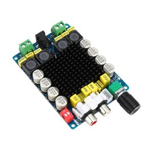 Freeshipping TDA7498 Classe D 2X100 W Dual Channel Audio Stereo 80 W + 80 W Digital Amplifier Board Module Spedizione Gratuita