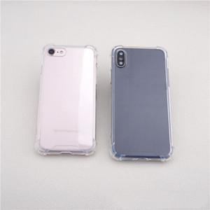 Для iPhone X 8 7 6 5 Case четыре угловых анти-шок телефон Case (четыре cornner с подушкой безопасности) телефон case