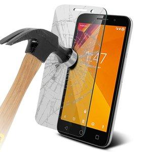 Protector de pantalla de vidrio templado para Vodafone Turbo 7 de alta definición 9H 2.5D iPhone transparente a prueba de explosiones XS XR XS Max