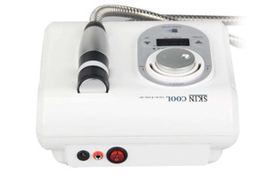 Taşınabilir soğuk soğuk ve sıcak electroporation ekipman yok iğne kriyo yüz mesoterapi cilt bakımı güzellik cihazı