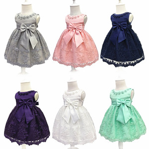 Flower Girl Dress For Wedding Baby Girl 3-18M Birthday Outfits Children's Girls First Communion Dresses Girl Kids Party Wear