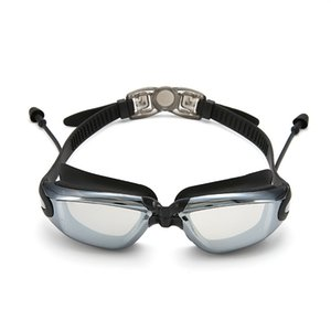 High Quality Swimming Goggles Set Fashionable Swim Glasses No Leaking Anti Fog Waterproof Surfing Diving Goggles with Case Earplugs
