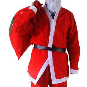 Nuevos regalos de Navidad Bolsas de Saco Gran Lienzo Monogrammable Papá Noel Cordón Bolsa con Renos 20 * 30 cm 30 * 40 cm 40 * 60 cm