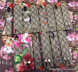 Copertura del telefono mobile di stampa di marca Tiger Snake Tiger per iphone 7 7plus 8 8plus 6 6S 6 plus X XS MAX Hard Cover Wristband