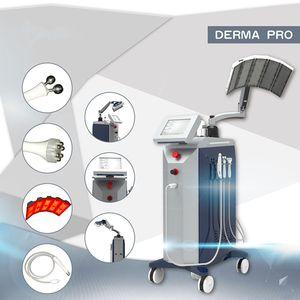 Wasser-Sauerstoff-Jet Peel und LED-Licht Bio Microcurrent Beauty Machine Hautstraffung Oxgen Jet