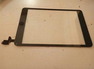 Panel de vidrio con pantalla táctil 100% nuevo con digitalizador con botones de conector ic para iPad Mini 1 2