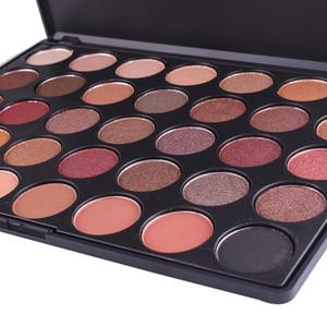 Miss Rose Shimmer Eyeshadow Palette-Matte 35 Colori Eye Shadow Eye Luminoso Lunga durata Impermeabile Make Up Set Beauty