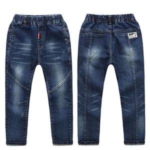 Infantil primavera roupas de 2018 novos menino de jeans estudantes crianças confortáveis 'calças de brim s meninos das crianças
