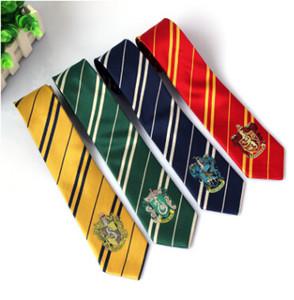 Гарри Поттер галстуки аксессуары для одежды Borboleta галстук Равенкло Хаффлпафф галстук Хогвартс полосой галстуки 4 Дизайн