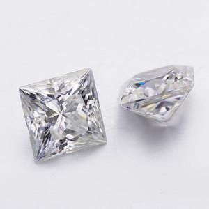 7*7 мм высокое качество ясность moissanites принцесса вырезать EF цвет лаборатории moissanites камень