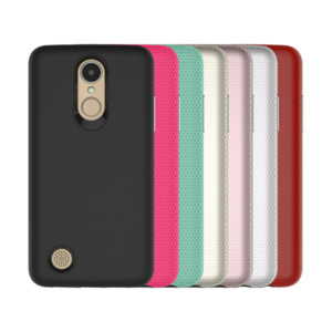 Phone case for LG K8 X20 US215 TPU and PC 2 in 1 Heat dissipation Comfortable