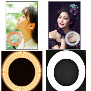 """Lightdow 12"""" Dimmable Dual Color Temperature 65W 2700-5500K AC Powered 336pcs of LED Ring Light with Bag for Photo Video Vlog Interview Ligh"""