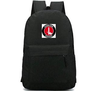 Charlton Athletic zaino giorno pacchetto Il sacchetto di scuola Valle di calcio packsack Squadra di calcio zaino Sport zainetto zaino Outdoor