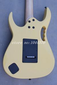 2013 personnalisé guitare Shop ibz Maple Jem 7 V jaune rose Pickups 6 cordes guitare électrique livraison gratuite gros
