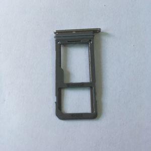 Sostenedor de la ranura SD original de una sola doble tarjeta SIM + Micro SD bandeja para Samsung Galaxy S8 S8 + S950