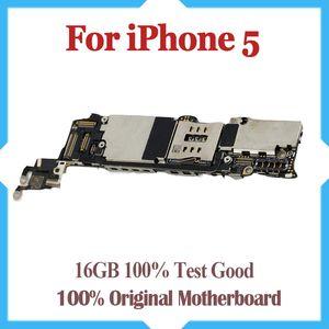 16 ГБ Оригинал разблокирован для iPhone 5 материнская плата, 100% тест для iPhone 5G материнская плата с чипами, Бесплатная доставка