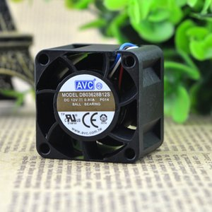 Para genuino AVC DB03628B12S 3628 12V 0.80A 3.6CM cm ventilador de gran volumen de aire de alta velocidad