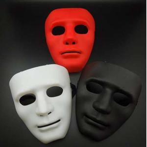 FANKASI новый Хэллоуин Маска партии DIY страшные маски сплошной цвет полное лицо косплей Маскарад Mime Маска мяч партии костюм маски