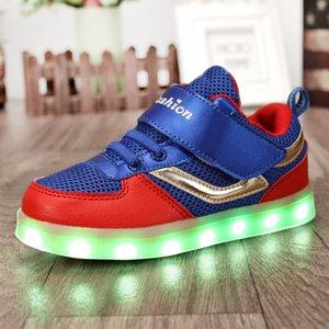Новые светодиодные фары моды детской обуви световую USB зарядка случайные настольные обувь светящихся призрак танцевальных случайные детские ботинки