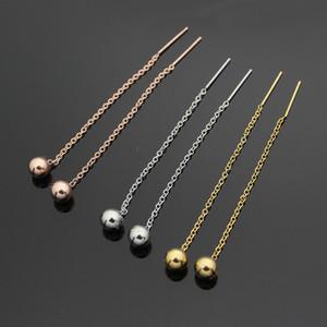 티타늄 강철 여성 보석에 대한 간단한 스틸 귀 손톱 귀걸이 귀걸이