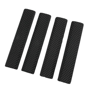 Tactical Rail Accessory Airsoft Keymod Soft Handguard Rail Cover Rubber picatinny rail sections