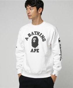 العلامة التجارية الجديدة المشتركة القرد الرجال هوديس كم طويل البلوز الخريف هوديس الهيب هوب الشارع الشهير عارضة أزياء بلوزات رياضية للرجال