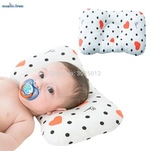 Muslin Tree Baby Pillow Newborn Baby Pillow Positioner Anti Roll Flat Head For 0-2 Years Kids Size 21X32cm