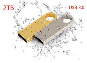 USB 3.0 Flash Drives de Metal Flash Drives USB 2 TB Pen Drive Pendrive Memória Flash USB Stick U Disk Storage transporte rápido