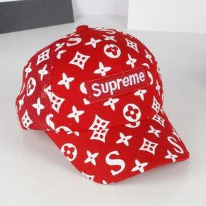 Berretti da baseball per bambini stampati alla moda Nuovi cappelli da sole per bambini Cappelli traspiranti a rete all'ingrosso