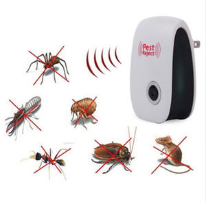 Elektronische Ultraschall Pest Repeller Mosquito Ausleitung Maus Ratte Maus Abweisend Anti Mosquito Repeller killer Ritt UK EU US-STECKER