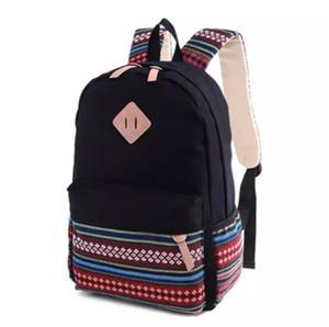 Женщины рюкзак для школы подростков девочек старинные стильные дамы рюкзак женский фиолетовый пунктирная печать высокого качества