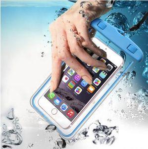 Funda impermeable universal para iPhone X 8 7 6 s Plus Funda protectora Funda impermeable para teléfono Coque Funda impermeable para teléfono