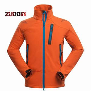 Dropshipping Waterproof Windproof Thermal Tech Fleece Hiking Jackets Men Outdoor Softshell Jacket Outdoor Climbing Fishing
