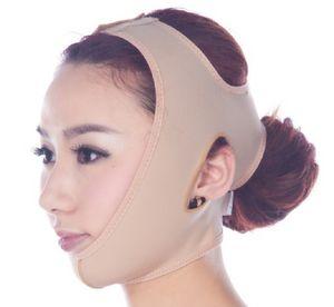 민감한 얼굴 얇은 얼굴 마스크 슬리밍 붕대 피부 관리 벨트 모양 및 리프트 더블 턱 얼굴 마스크 얼굴 띠를 줄이기