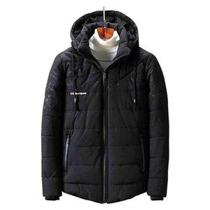 AmberHeard 2018 Fashion Winter Fleece Jackets Men Camouflage Patchwork Hooded Outwear Parka Mens Windbreaker Thick Coat Overcoat