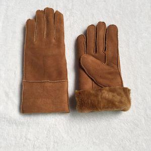 Mujeres de la moda clásica guantes de cuero nuevos guantes de lana 100% envío gratis de lana en muchos colores