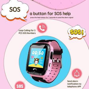 Kinder-Smartwatch GPS-Verfolger IP67 imprägniern PAS mit intelligenten Kinderuhren der Kamera Smartwatch passt Karte des Telefon-2G SIM auf