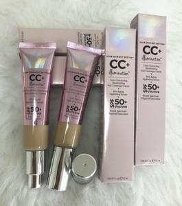 Nueva marca de maquillaje Cosméticos Primer 2 Color Corrección iluminando Crema de cobertura completa 32ML Corrector Luz de luz DHL Envío