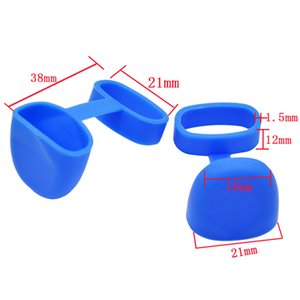 모자 색깔을 가진 편평한 vape 악대 19-22mm 직경을위한 실리콘 위생 모자 편평한 반지 vape 악대 편평한 전자 cig 방진 펜 떠벌리 똑똑히 떨어지십시오