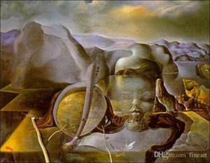 art fait main mur de l'huile salvador reproduction de peinture sur toile dali célèbre chambre de peinture à l'huile de l'artiste belles peintures à l'huile sur toile pour ho