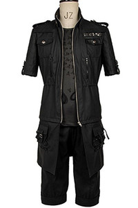 Final Fantasy FF15 XV Noctis Lucis Caelum Noct Jacket Hoodie Cosplay Costume Outfit