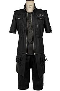 Final Fantasy XV FF15 Noctis Lucis Caelum Noct Jaqueta Com Capuz Cosplay Outfit Traje