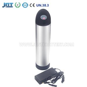 Freies Verschiffen Mini Flaschenlänge 260mm 24 V 10AH Lithium Li-Ion Batterien für 350 / 250W / 150W Bafang Motor + 2A Ladegerät